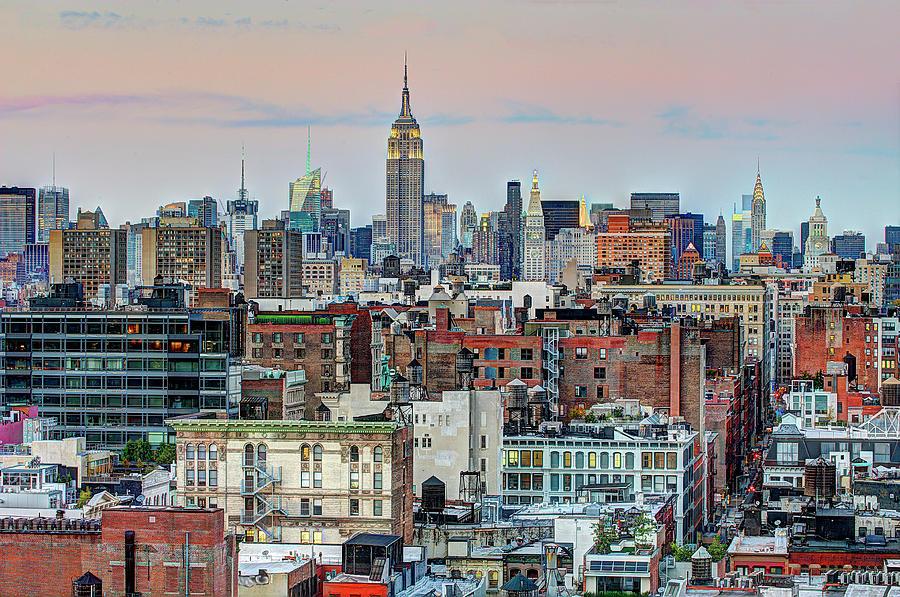 New York City Midtown Skyline Photograph by Tony Shi Photography
