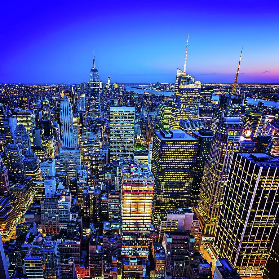 New York City Skyline, Usa Photograph by Mbbirdy