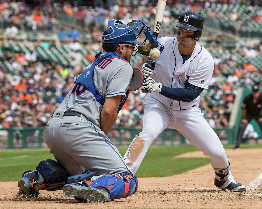 New York Mets V Detroit Tigers 1 Photograph by Dave Reginek