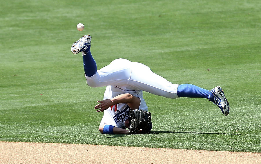New York Mets V Los Angeles Dodgers 1 Photograph by Stephen Dunn