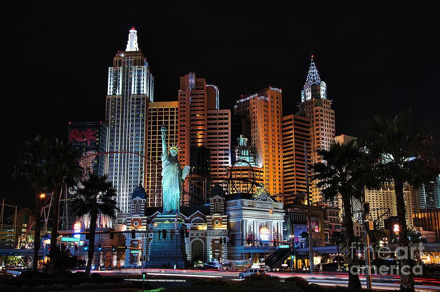 New York Photograph - New York New York Hotel And Casino by Eddie Yerkish