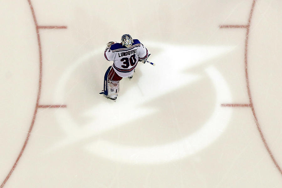 New York Rangers V Tampa Bay Lightning Photograph by Mike Carlson