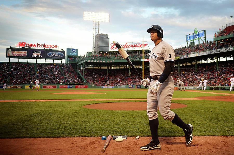 New York Yankees V Boston Red Sox Photograph by Adam Glanzman