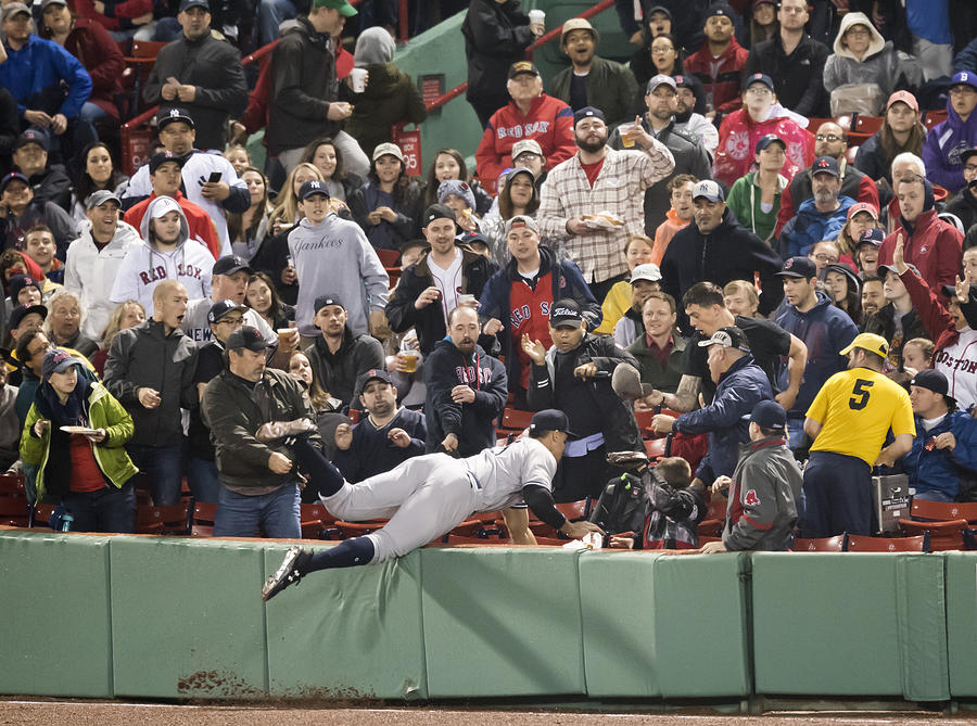 New York Yankees v Boston Red Sox Photograph by Michael Ivins/Boston Red Sox