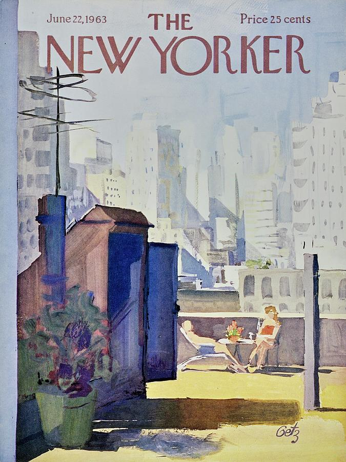New Yorker June 22nd 1963 Painting by Arthur Getz