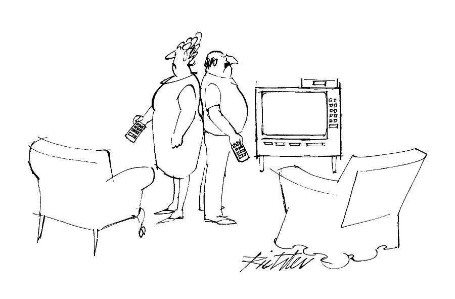 New Yorker June 6th, 1988 Drawing by Mischa Richter