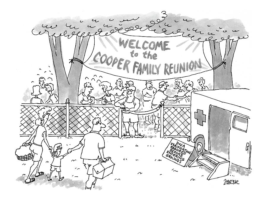 New Yorker May 31st, 1999 Drawing by Jack Ziegler
