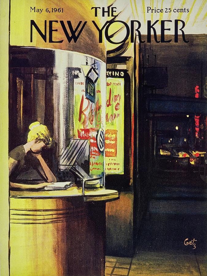 New Yorker May 6th 1961 Painting by Arthur Getz