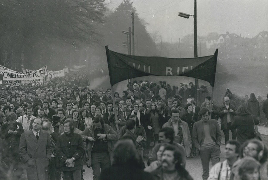 Retro Photograph - Newry March Passes Off Peacefully by Retro Images Archive
