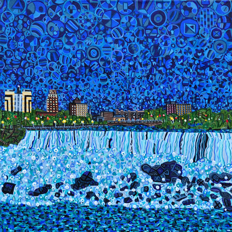 Niagara Falls Painting - Niagara Falls by Micah Mullen