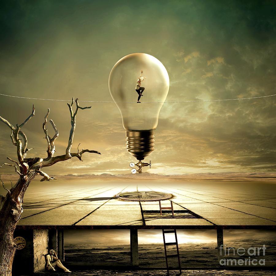 Walk On The Wild Side Digital Art - Nighthawks by Franziskus Pfleghart
