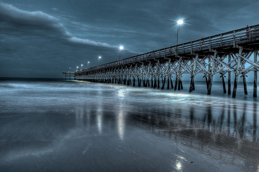 Nighttime at the Pier by At Lands End Photography