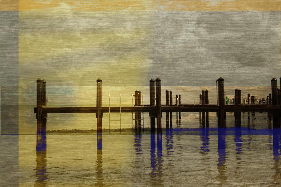 Landscape Digital Art - No. 141 by Alexander Ahilov