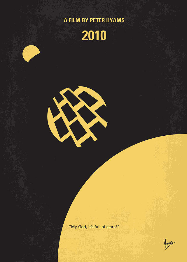 2010 Digital Art - No365 My 2010 Minimal Movie Poster by Chungkong Art
