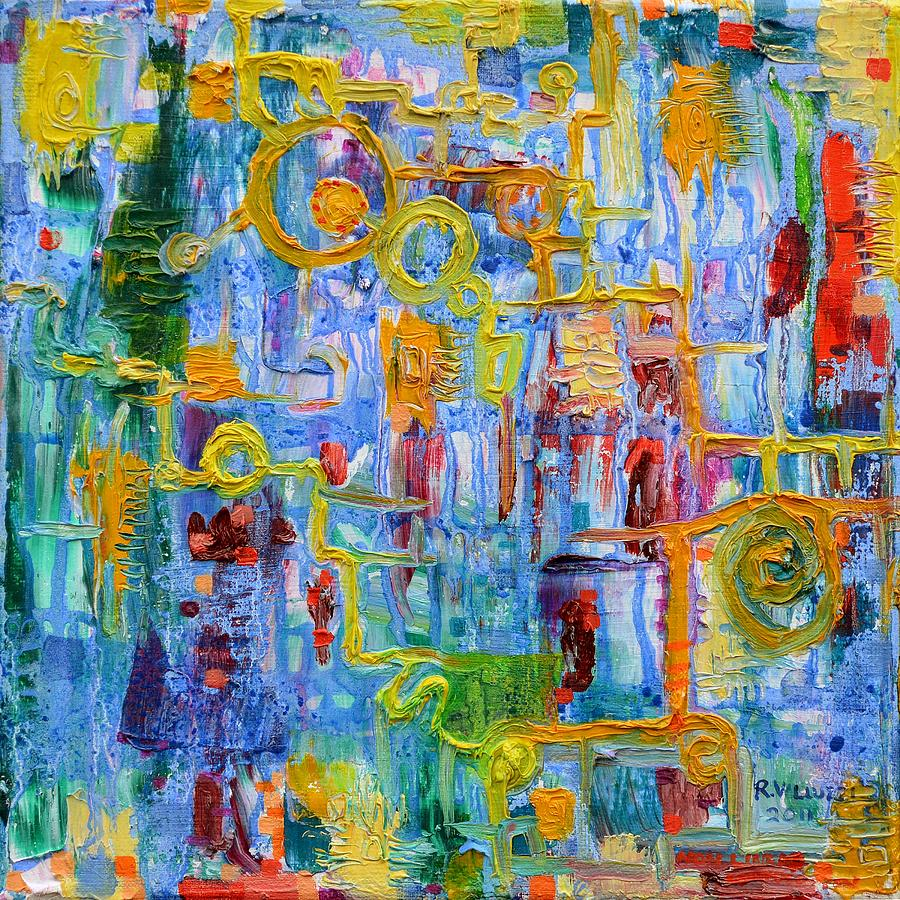 Valluzzi Painting - Nonlinear by Regina Valluzzi