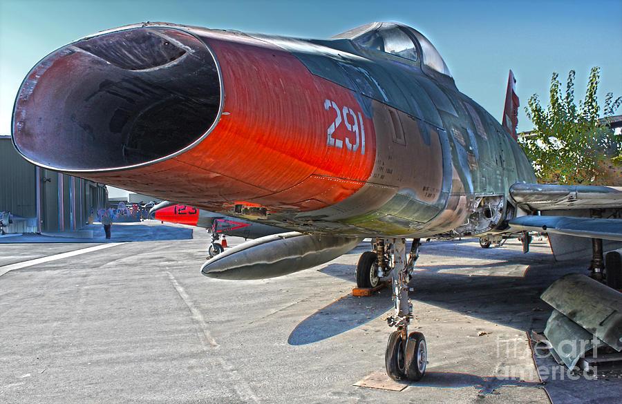 North American Super Sabre Qf-100d Photograph - North American Super Sabre Qf-100d by Gregory Dyer