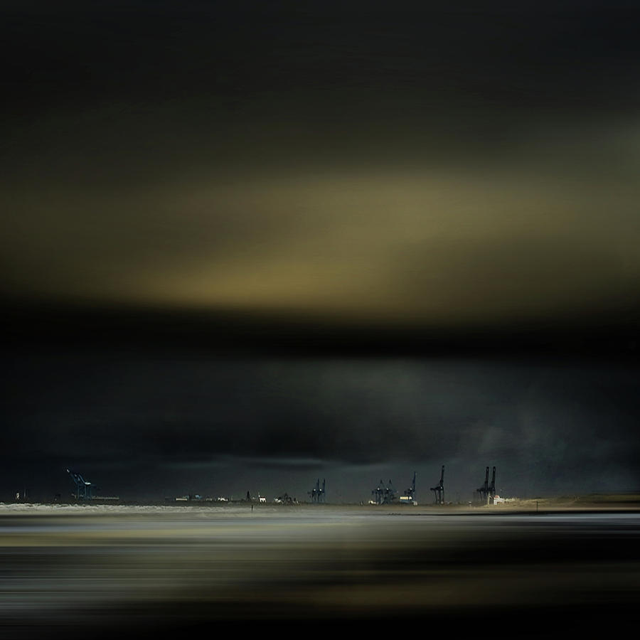 Landscape Photograph - Northern Wind by Piet Flour