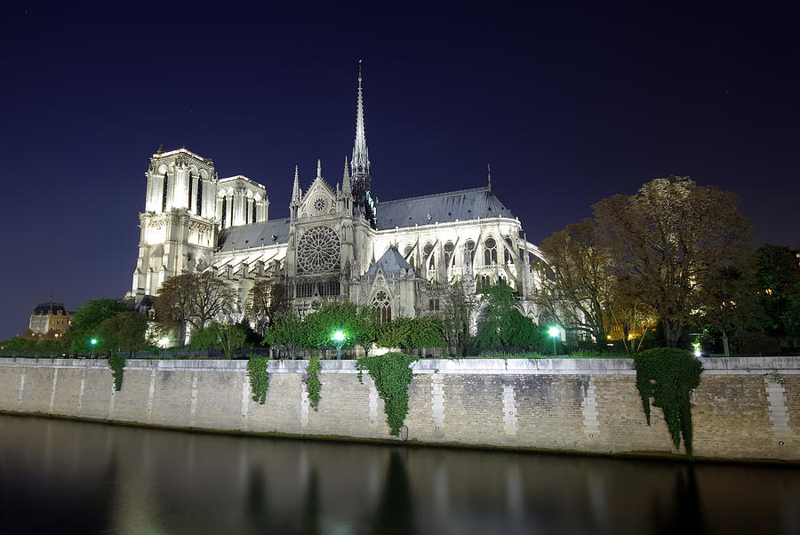 Architecture Photograph - Notre Dame Cathedral by Ioan Panaite