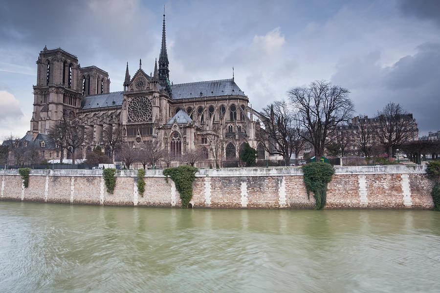 Notre Dame De Paris Cathedral Photograph by Julian Elliott Photography