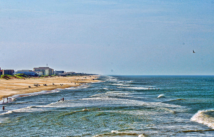 Water Photograph - Ocean Front by Carolyn Ricks
