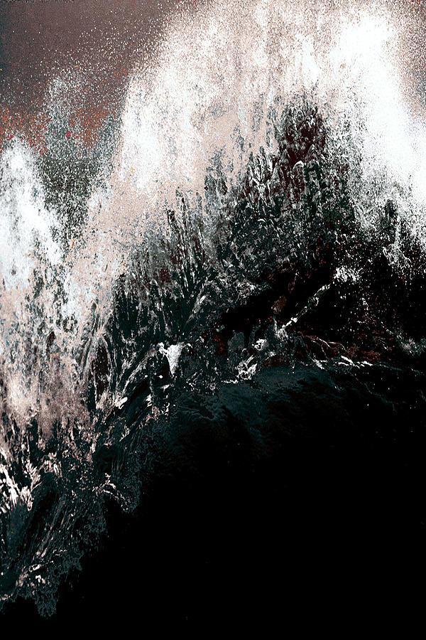 Digital Artwork Drawing - Ocean Series 34 by Franco Timitilli