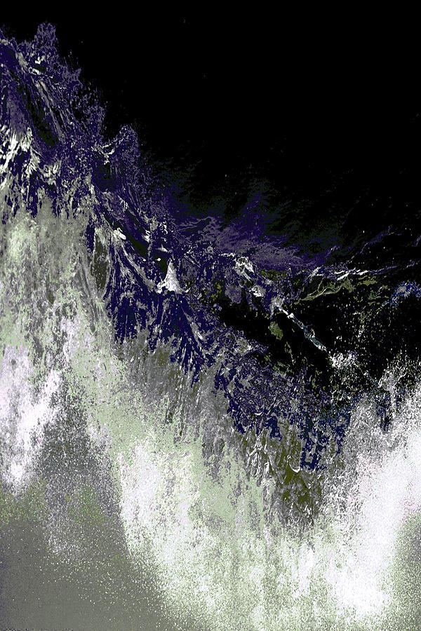 Digital Artwork Painting - Ocean Series 35 by Franco Timitilli