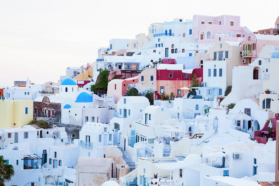 Oia Photograph by Jorg Greuel