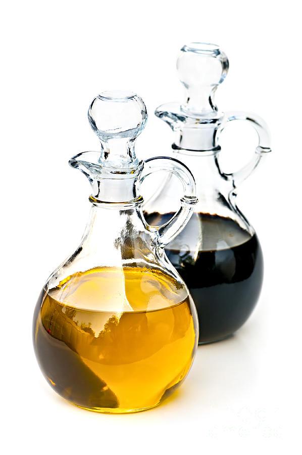 Oil Photograph - Oil And Vinegar by Elena Elisseeva