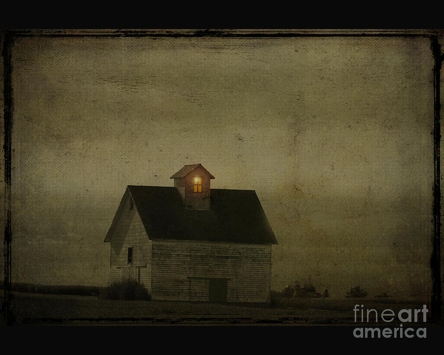 Barn Photograph - Old Barn by Jim Wright