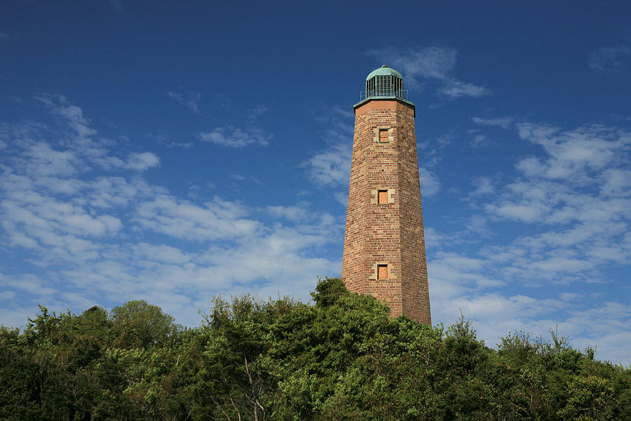 Lighthouse Photograph - Old Cape Henry Lighthouse by JC Findley