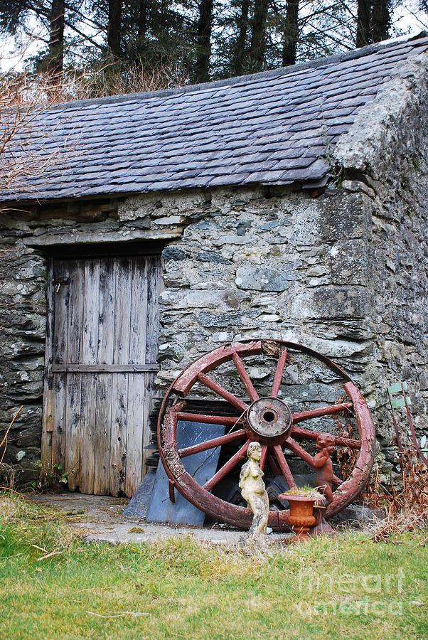 Old Farm Buildings Photograph By Joe Cashin