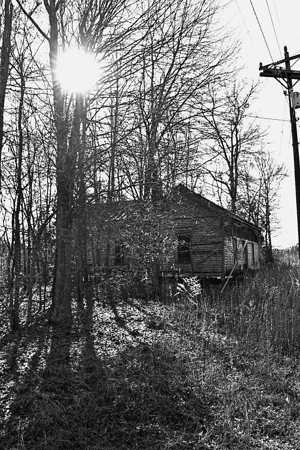 Architecture Photograph - Old Home Place by Larry Bishop