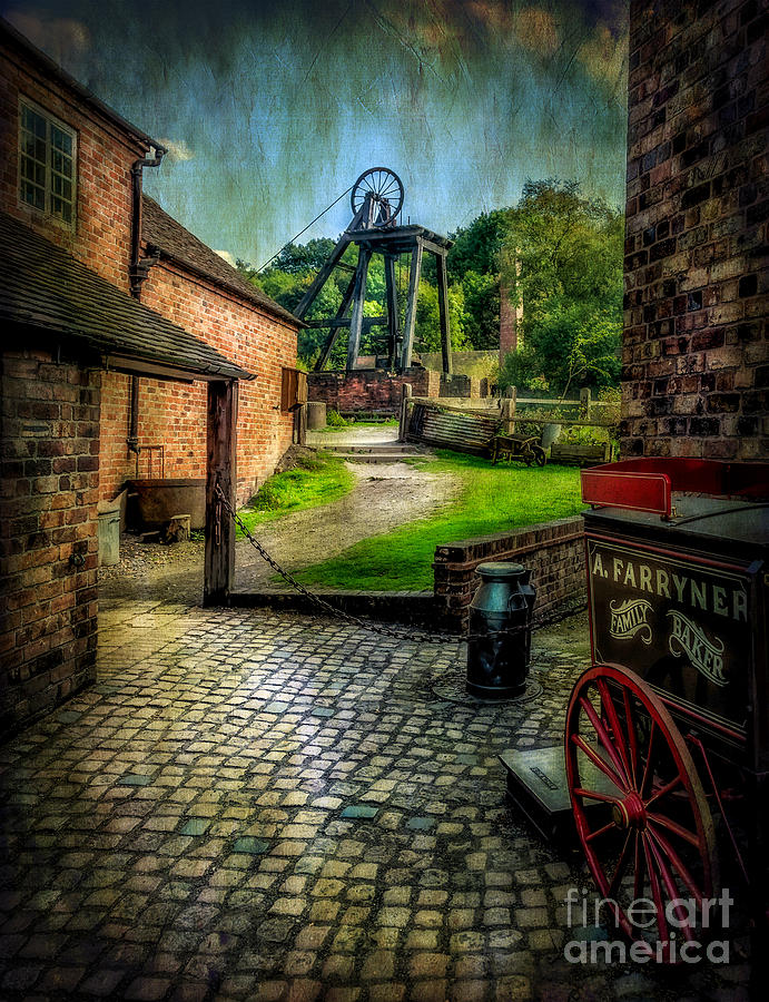 Victorian Photograph - Old Mine by Adrian Evans