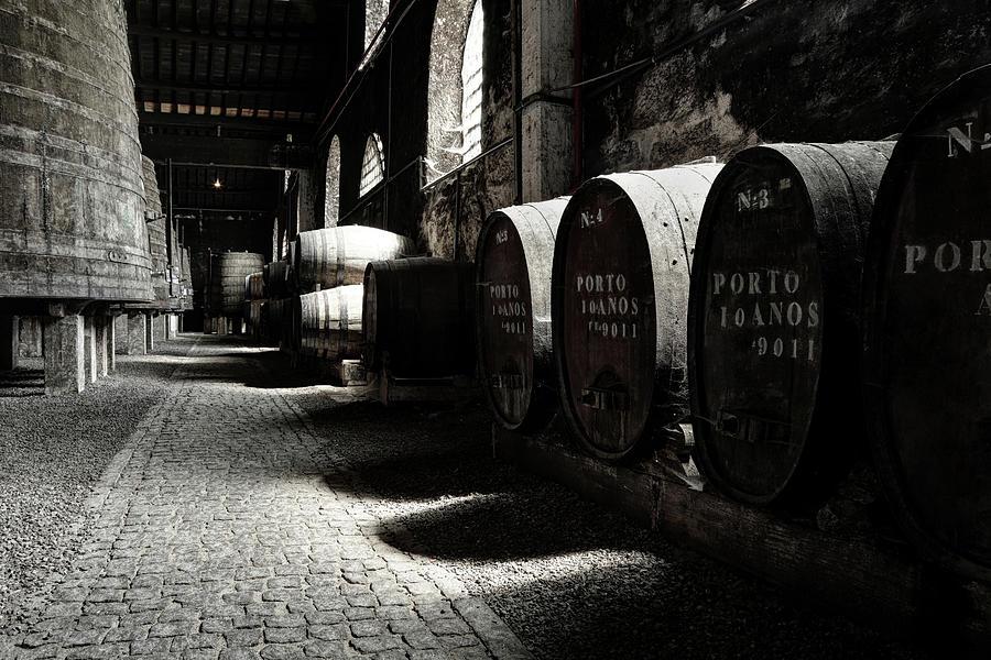 Old Porto Wine Cellar Photograph by Vuk8691
