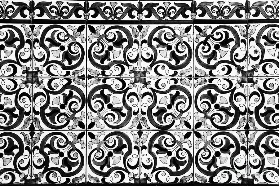 Tiles Photograph - Old Times by Jose Elias - Sofia Pereira