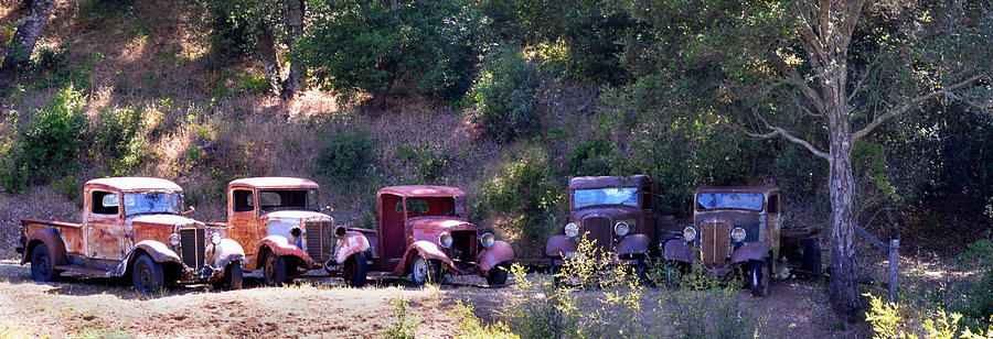 Truck Photograph - Oldtimers Rendezvous by Lynn Bauer