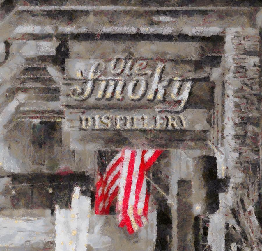 Ole Smoky Distillery Painting - Ole Smoky Distillery by Dan Sproul