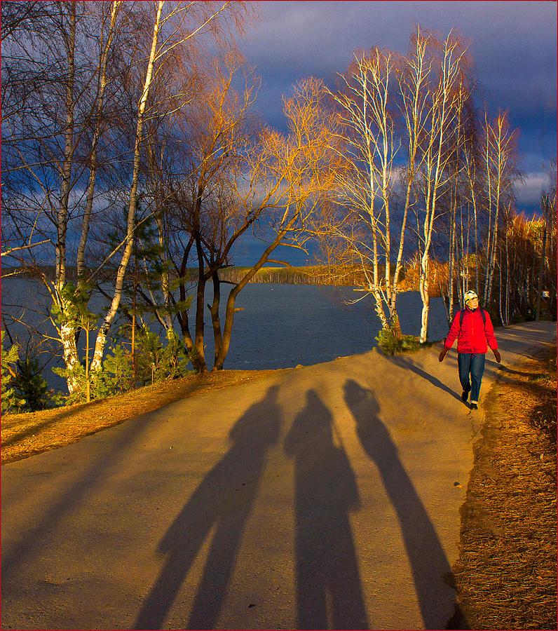 Landscape Photograph - One Autumn Day by Vladimir Kholostykh