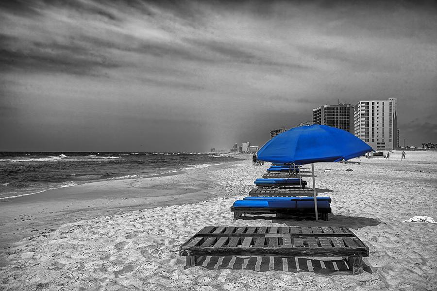 Orange Beach Photograph - Orange Beach in Alabama by Mountain Dreams