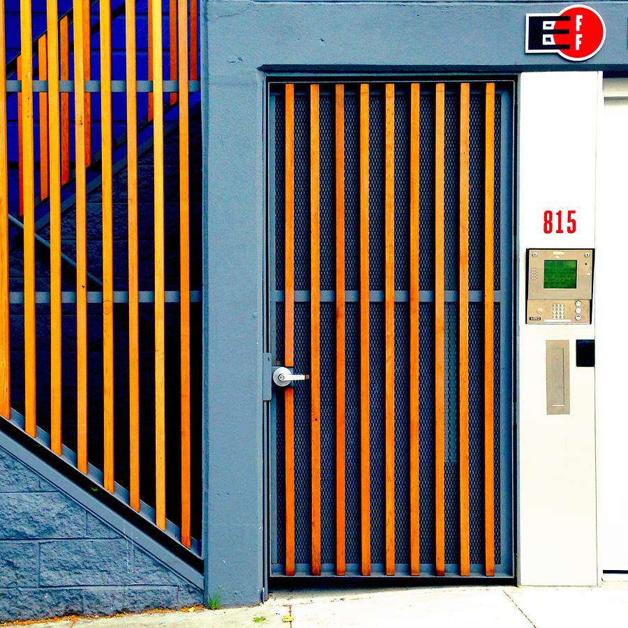 Orange Gate Photograph by Julie Gebhardt