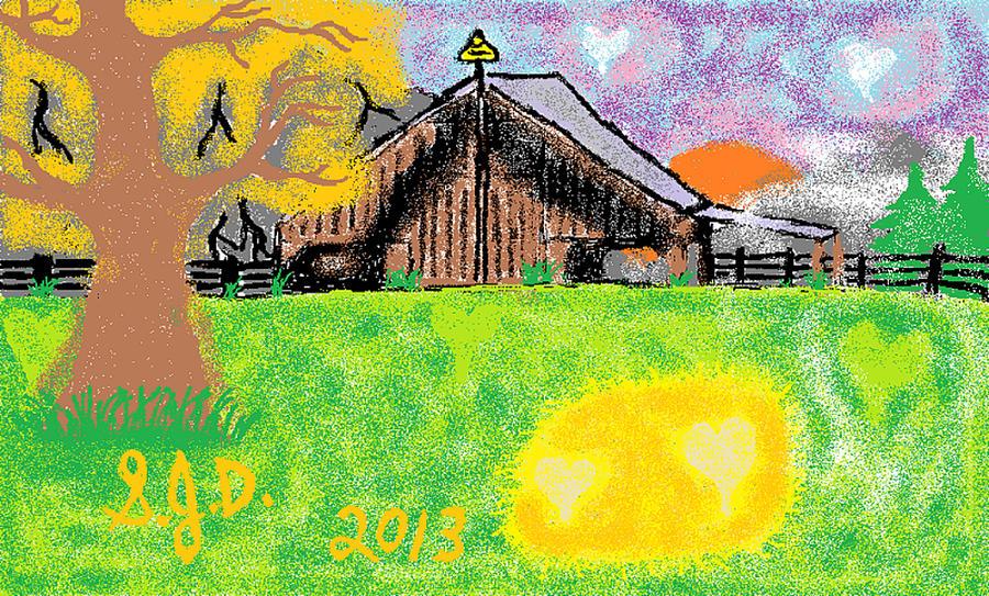 Oregon Digital Art by Joe Dillon