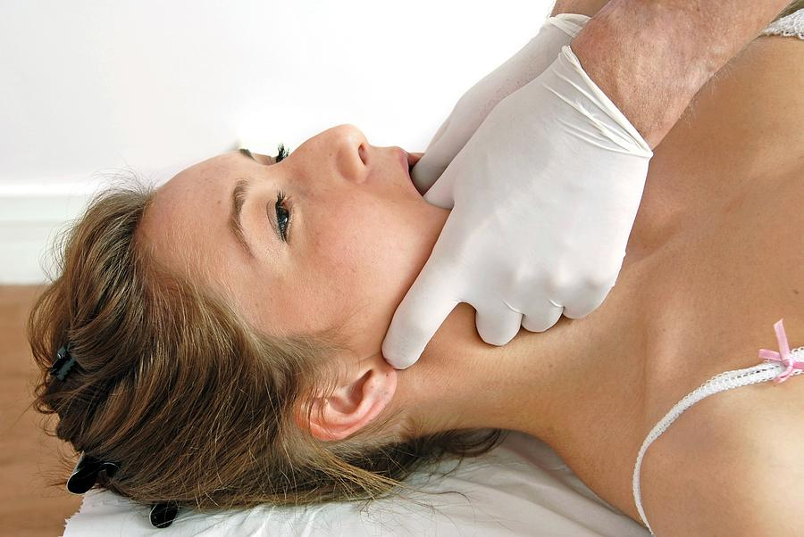 Osteopathy Photograph - Osteopathy by Aj Photo/science Photo Library