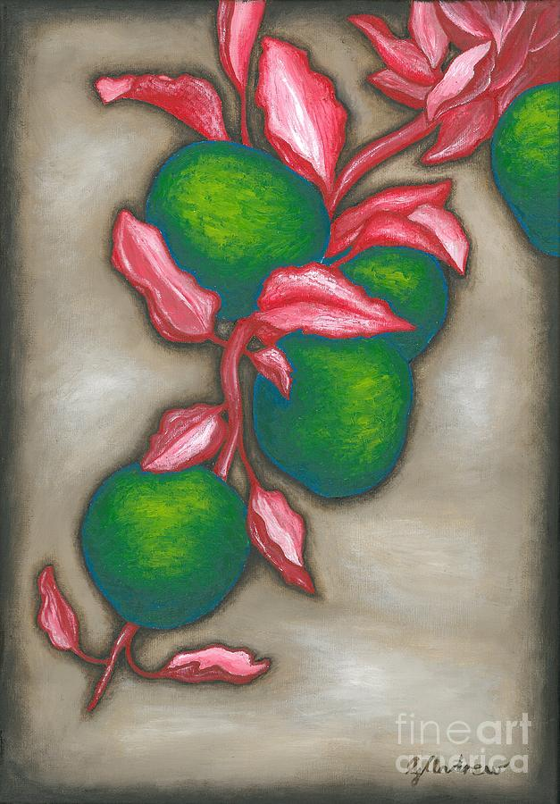 Apples Painting - Otherwise Apples by Gareth Andrew