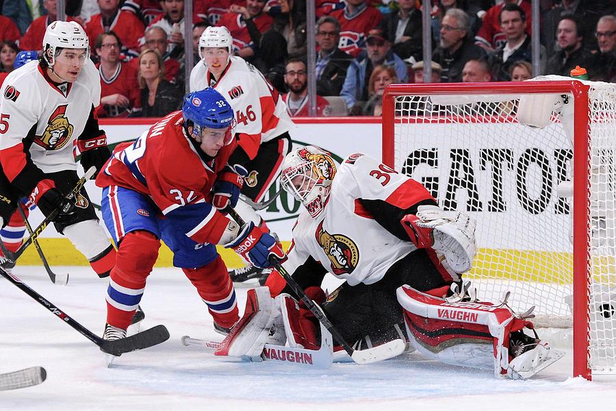 Ottawa Senators V Montreal Canadiens Photograph by Richard Wolowicz