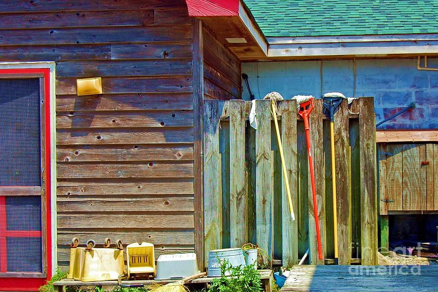 Building Photograph - Out To Dry by Debbi Granruth