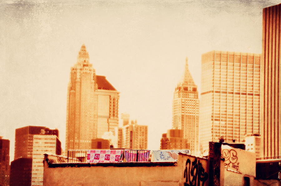 New York City Photograph - Out To Dry by Emily Stauring
