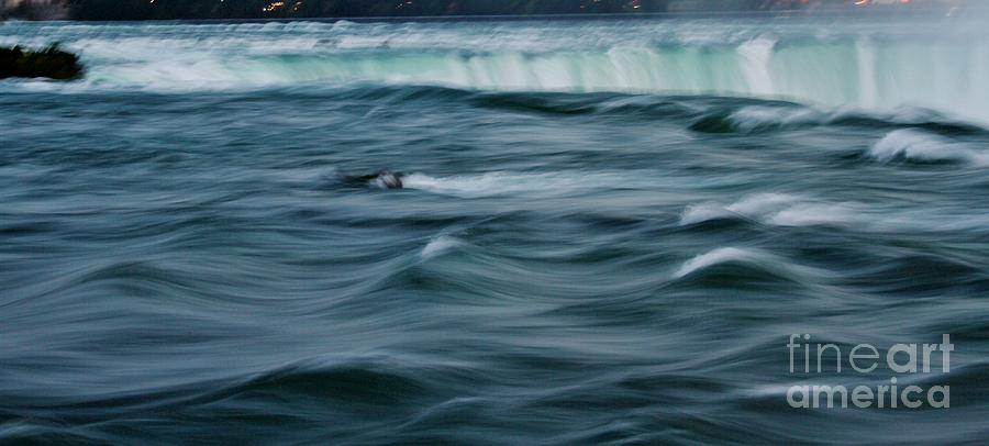 Niagara Falls Photograph - Over The Edge by Butch Phillips
