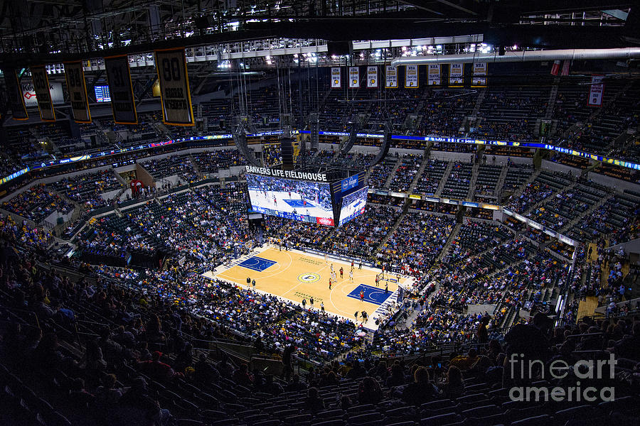 Indiana Photograph - Pacers Indiana by David Haskett