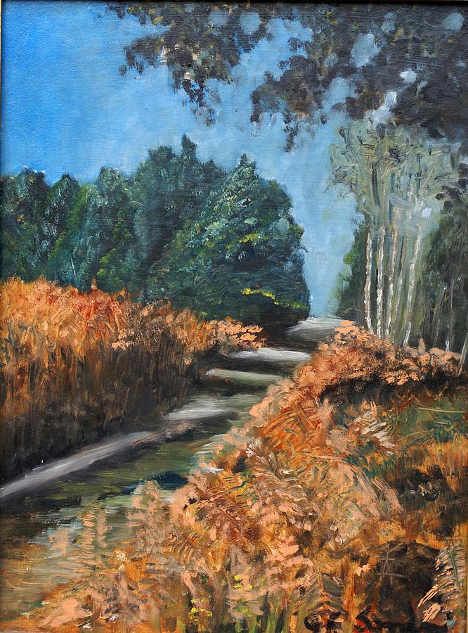 Nature Painting - Paesaggio by Niki Mastromonaco