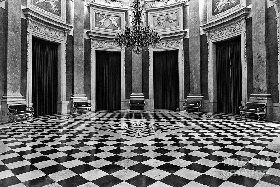 Ajuda Photograph - Palace by Jose Elias - Sofia Pereira